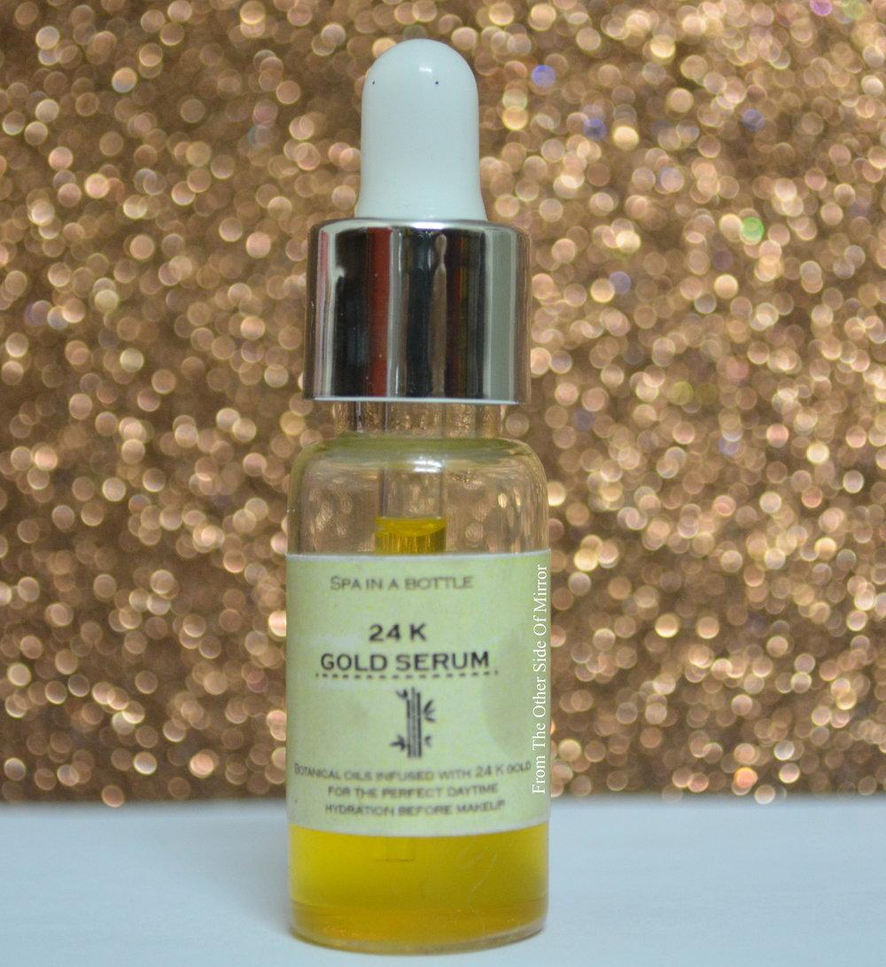 Spa in a bottle -24 k Gold Serum