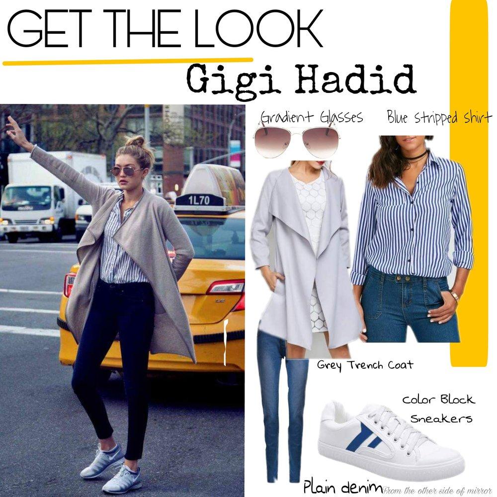 Get the look : Gigi Hadid