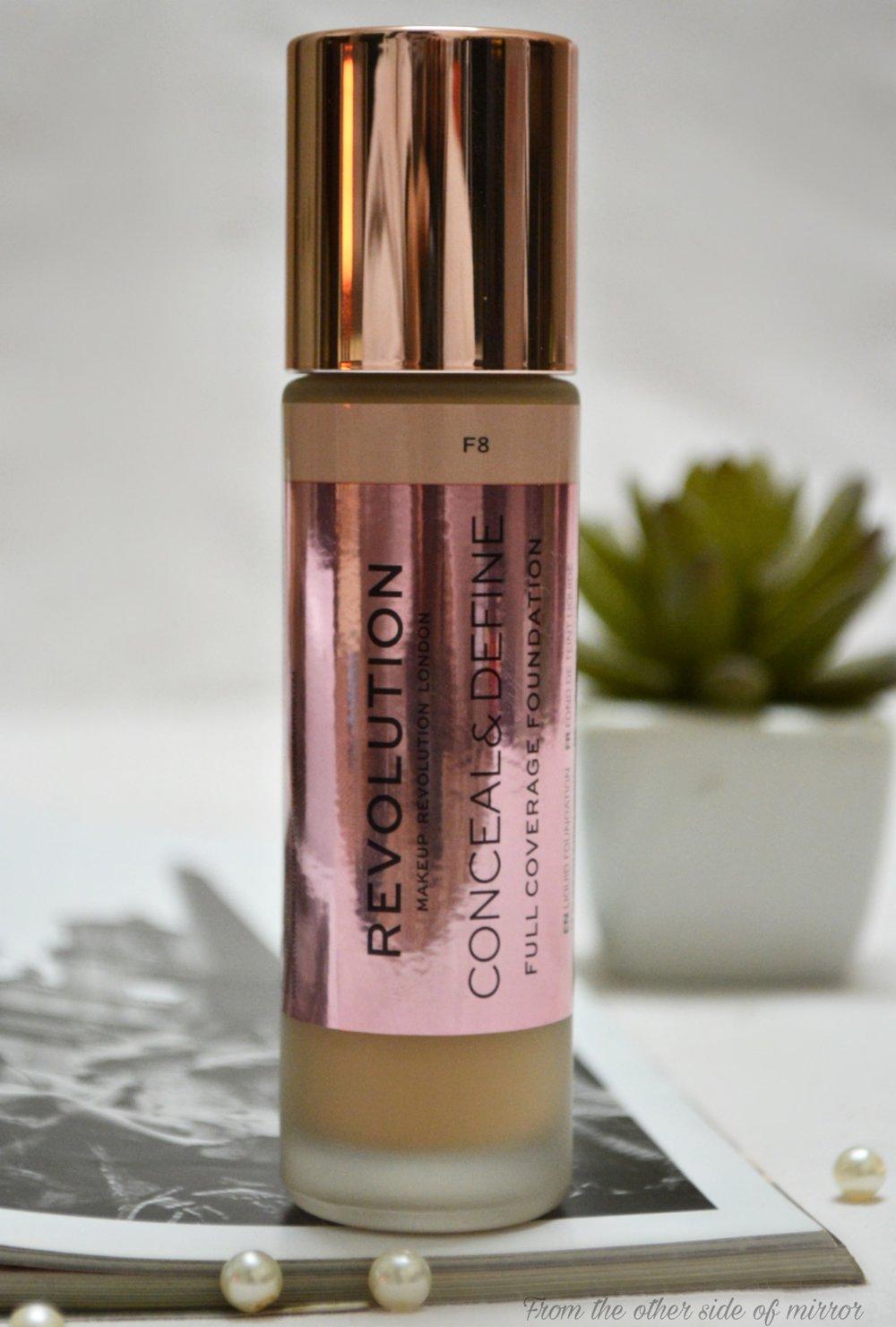 MakeupRevolution Conceal & Define Foundation - F8