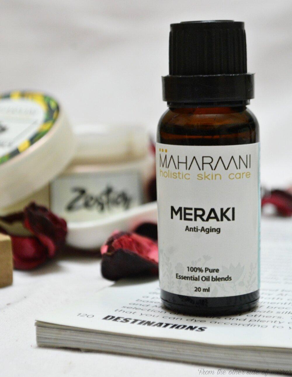 MERAKI Anti Aging Face Oil by MAHARAANI